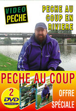 Lot 2 DVD Vidéo Pêche au coup - Video Pêche