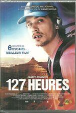 DVD - 127 HEURES avec JAMES FRANCO / Un film de DANNY BOYLE / NEUF EMBALLE