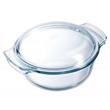 36729 Pyrex - Glasbräter mit Deckel Auflaufform Glaskochgeschirr 2L