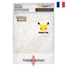Pokémon 25 ans - Classeur de Collection Premiers Partenaires + Pikachu Jumbo