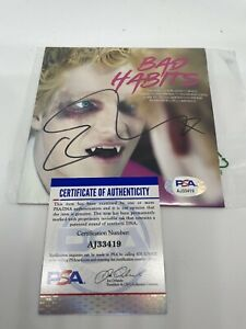 Ed Sheeran Signed CD Bad Habits Autographed CD Cover PSA/DNA Certified Auto