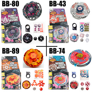 4pcs/lot Beyblade BB80 BB43 BB89 BB74 Sale Toys Metal Fusion Gyro Kids Game Set