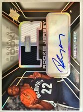 🏀 2006-07 Upper Deck SPX /1199 Rudy Gay #149 Rookie RC JERSEY PATCH AUTO