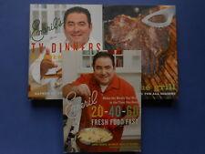 ## EMERIL COOKBOOKS x 3  TV DINNERS, GRILL & 20-40-60 - EMERIL LAGASSE **AS NEW