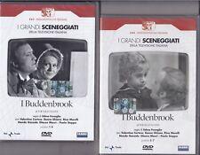 4 Dvd Sceneggiati Rai I BUDDENBROOK di E.Fenoglio con Paolo Stoppa completa 1971