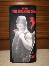 Rock Rebel The Walking Dead Daryl Dixon Wallet Tri-fold Textured Bloody 2015 Pic