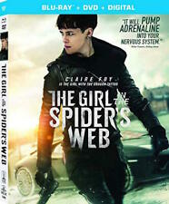 The Girl in the Spider's Web [Blu-ray] AND DVD, Vicky Krieps,Christopher Convery