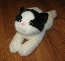"SKM 14"" Floppy Bean Bag Pets Sammy Cat Soft Plush Animal"