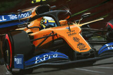 Print on canvas 2019 McLaren MCL34 #4 Lando Norris by Toon Nagtegaal (LE)