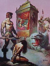 TARNSMAN OF GOR Boris Vallejo Vintage Art 1967 John Norman Gorean Dragon GGA
