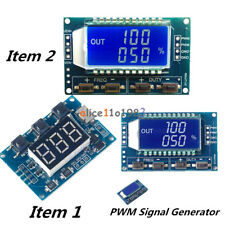 Adjustable Pwm Pulse Frequency Duty Cycle Square Wave Signal Generator Module