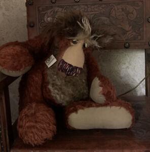 "HUGE ""The Mighty Grunch""Barbara-Ann Bears - handmade artist teddy bear - OOAK"