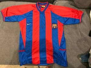 DECO SIGNED FC BARCELONA JERSEY *VERY RARE* Barca Football