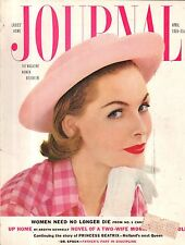 1955 Ladies Home Journal April - Ethel Barrymore; Santa Rosa CA; Maine Houses
