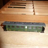 Technomodell PMT H0e Einheitspersonenwagen 2.Klasse KB4 der DR Epoche 3, Rarität