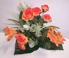 Artificial plants  silk  Rose flower Arrangement F21 -SPECIAL CLEARANCE PRICE!!
