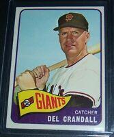 1965 TOPPS DEL CRANDALL SAN FRANCISCO GIANTS #68 EX/EXMT