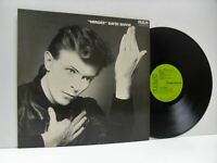 DAVID BOWIE heroes LP EX/EX, INTS 5066, vinyl, album, heart rock, classic rock,