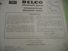 SAMS AUTO RADIO MANUAL(AR32) FIRST EDITION PRINTING-SEPT.1965 AND EXTRA