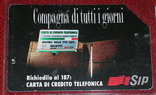 COMPAGNA DI TUTTI I GIORNI L.15000 ( GOLDEN 223 ) / SCHEDA TELEFONICA SIP USATA