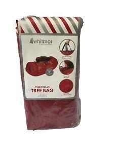 "Whitmor Red Christmas Tree Storage Bag Up To 9 Foot Tree 29"" x 56"""