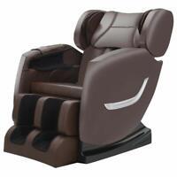 Zero Gravity Recliner,Shiatsu Full Body Electric Massage Chair built-in Bluetoot