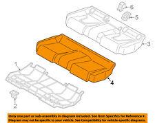 AUDI OEM 15-16 A3 Rear Seat-Foam Cushion Pad 8V5885375B