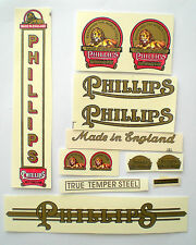 Decals Phillips bicycle vintage