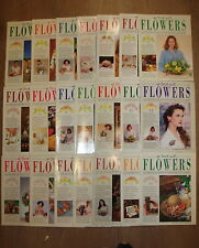* 21 VINTAGE IN TOUCH WITH FLOWERS MAGAZINES by ORBIS * UK FREE POST * PAPERBACK