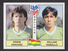 Panini - USA 94 World Cup - # 232 Sanchez / Ramallo - Bolivia (Black Back)