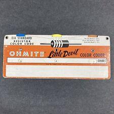 Ohmite Little Devil - Resistor Color Coder