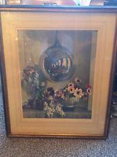 Vintage 1930 Herbert Davis Richter Mirrored Ball Chinese Asian Art Print