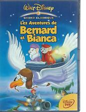 DVD - WALT DISNEY - AVENTURES de BERNARD ET BIANCA  - FRANCAIS / ENGL region 2