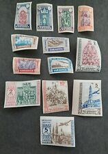 SPAIN - ZARAGOZA PRO-SEMINARIO 13 IMPERF. stamps MNH