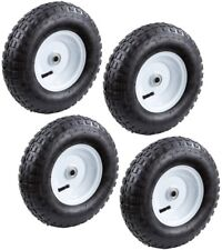 Pneumatic Tire 13 in. Replacement Inflatable Heavy Duty Ball Bearings (4-Pack)