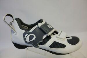 PEARL IZUMI Tri Fly 5 V White Sz 8.5 (39 EU) Women Cycling Shoes