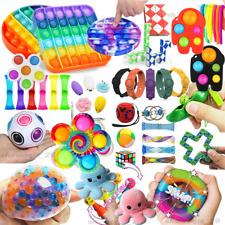 Fidget Toys Set 24Pack Sensory Tools Bundle Stress Relief Hand Games Kids Adults