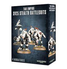 Tau Empire XV25 Stealth Battlesuits. 20% off rrp. Warhammer 40k. Games Workshop