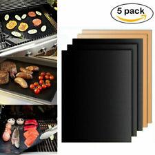 5Stk Bequee BBQ-Vorleger des Grillen & Backen 40x33x0.02 cm - Hallohaus Antihaft