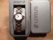 New Reloj Watch Montre LORUS Ref.RRS39FX-9 - Quartz  Steel Acero Bicolor - Nuevo