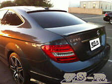 2012-2014 C250 C350 C63 Coupe AMG Carbon Fiber Trunk Lip w/ OE Roof Spoiler Wing