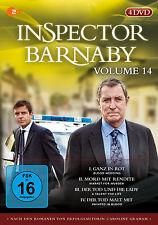 4 DVDs  * INSPECTOR BARNABY - VOLUME 14  # NEU OVP&