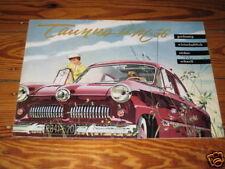 Prospekt Ford Taunus 12 M Weltkugel von 1956