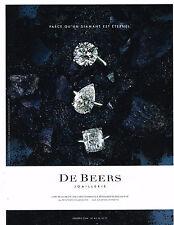 PUBLICITE ADVERTISING   2010   DE BEERS   joaillier