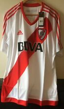 adidas River Plate Home Shirt Camiseta Football Futbol 2016-2017 Adult Adulto