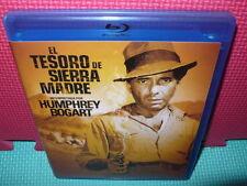 EL TESORO DE SIERRA MADRE - BOGART  - BLU-RAY