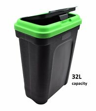 32L Large Pet Food Container Dog Cat Animal Storage Bin 16KG Dry Feed 23KG Seed