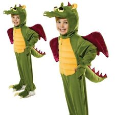Kids Child Dragon Costume Boys Girls Book Day Fancy Dress Outfit New