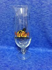 Hard Rock Cafe Indianapolis Hurricane Glass w/ Classic HRC Logo Palm Trees