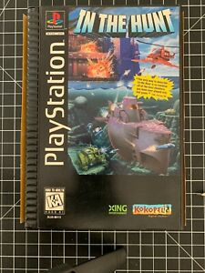 In the Hunt ps1 Long Box 1995